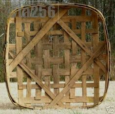 Primitive Tobacco Baskets
