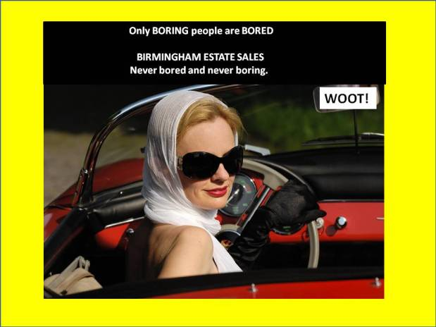 50% OFF, LAST DAY! ALL MUST GO! BIRMINGHAM ESTATE SALES is in GARDENDALE for 3 days! Joinus!