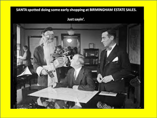 BIRMINGHAM ESTATE SALES is in Crumly Chapel! Join us!