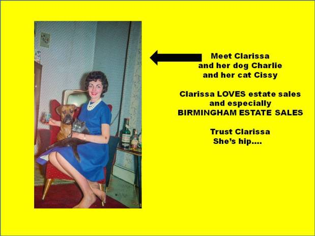 BIRMINGHAM ESTATE SALES is in CRESTWOOD for 3 days! Join us!