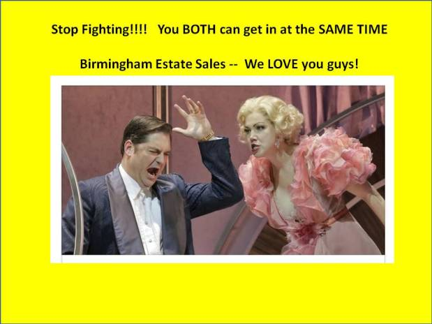 BIRMINGHAM ESTATE SALES is in HUEYTOWN