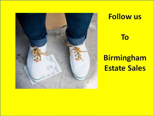 BIRMINGHAM ESTATE SALES is in Bham for 2 days! Join us!