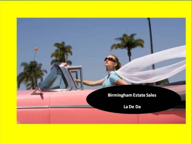 BIRMINGHAM ESTATE SALES – by APPT ONLY! (in Bham)
