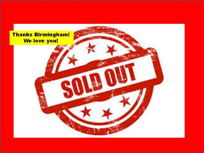 SOLD OUT! We LOVE YOU!