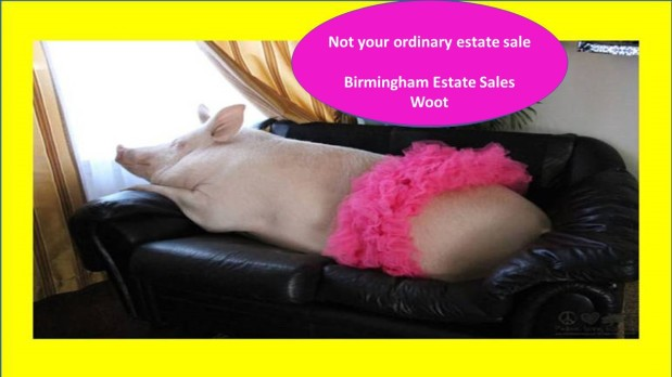 "50% OFF, LAST DAY! BIRMINGHAM ESTATE SALES is KICKIN' & PICKIN"" in ANNISTAN! Join us!"