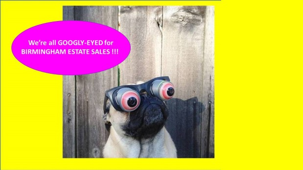 BIRMINGHAM ESTATE SALES is in MAYLENE for 3 days! Join us!