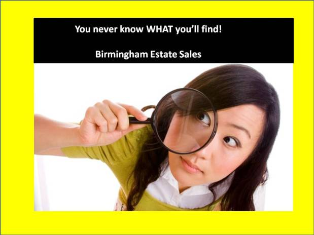 BIRMINGHAM ESTATE SALES is in PLEASANT GROVE for a ONE DAY SALE! Don't miss it!