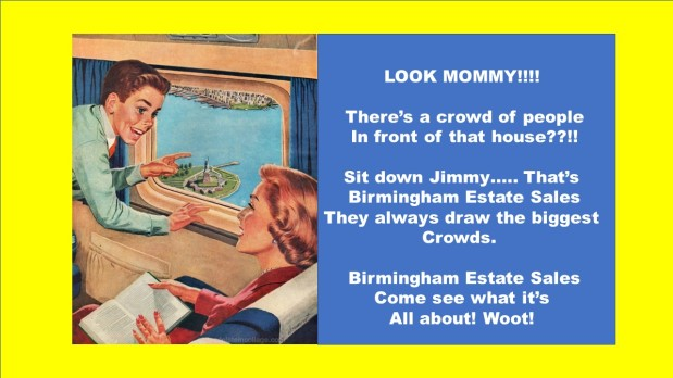 50% OFF NOW! BIRMINGHAM ESTATE SALES is in HOMEWOOD for 2 days! Furniture BLOWOUT!