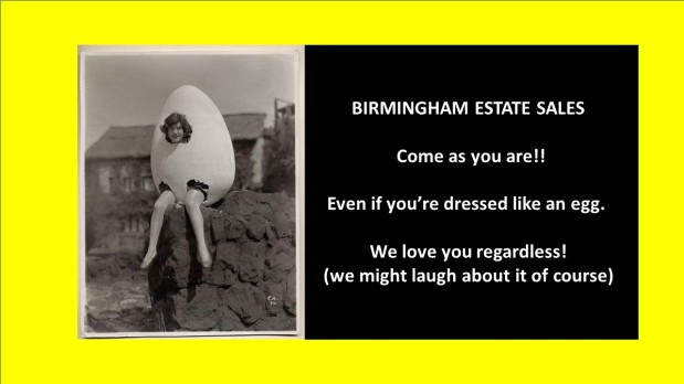 BIRMINGHAM ESTATE SALES is in CENTER POINT for 2 days- Join us!