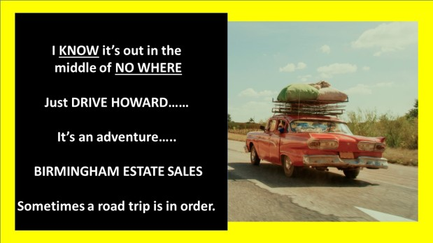 50% OFF!!! ALL MUST GO! BIRMINGHAM ESTATE SALES is in CROSSVILLE!!!! Road Trip!!!