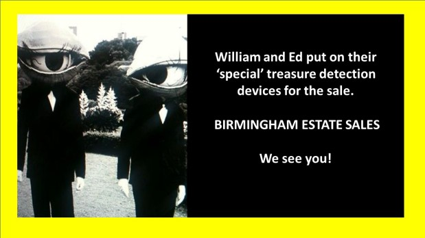 50% OFF, LAST DAY, ALL MUST GO! BIRMINGHAM ESTATE SALES is at OLD LEEDS RD .. Again!!!Join us!
