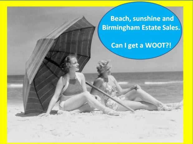 50% OFF, LAST DAY! BIRMINGHAM ESTATE SALES is in West Blocton for 3 days! Join us why don't you?