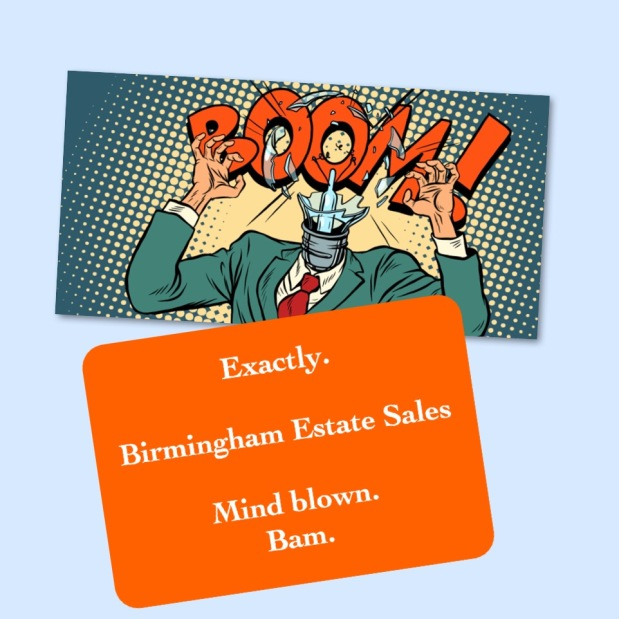 BIRMINGHAM ESTATE SALES is in MOUNTAIN BROOK for a 1 day BLOWOUT- Join us!