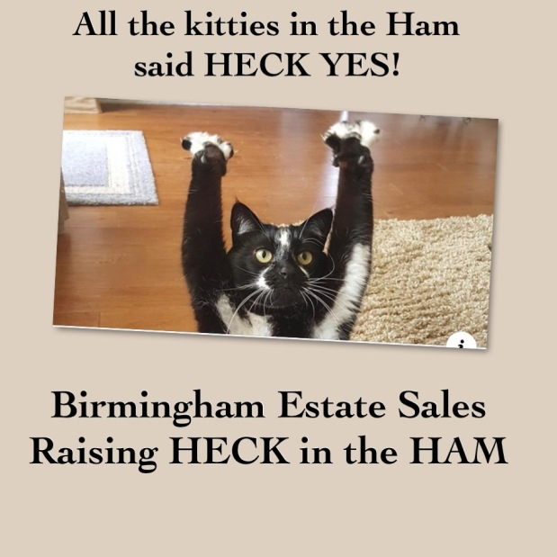 50% OFF, LAST DAY! BIRMINGHAM ESTATE SALES is hosting a DOOZY of a sale! Come see us!
