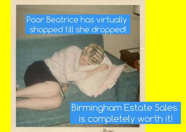 50% OFF, LAST DAY! BIRMINGHAM ESTATE SALES is in HOOVER for 3 days- Join us!