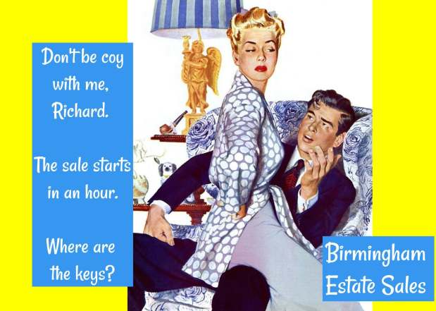 50% OFF, LAST DAY! BIRMINGHAM ESTATE SALES is in HEFLIN for 3 days!- Join us!