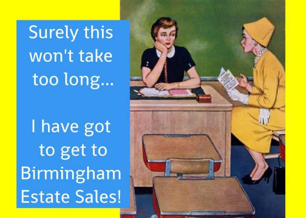 BIRMINGHAM ESTATE SALES is in SPRINGVILLE for 3 days- Join us!