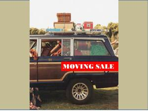 bes moving sale jeep