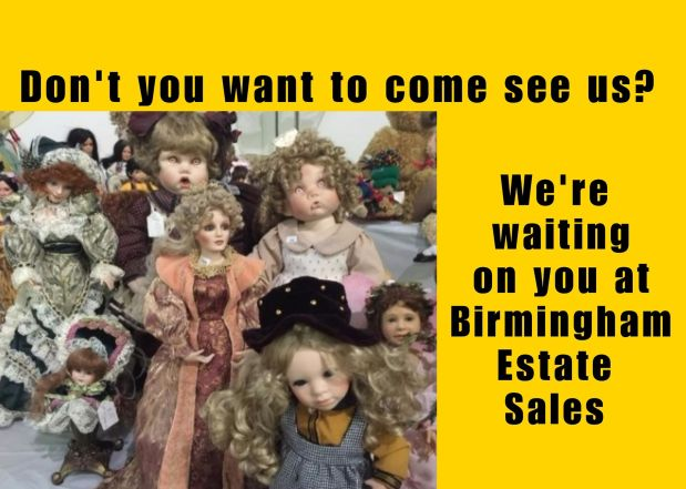 50% OFF NOW!!  BIRMINGHAM ESTATE SALES is in HOOVER for 3 days- Join us!