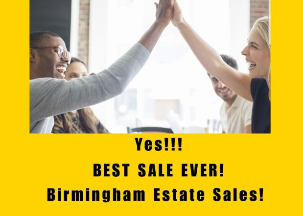 50% OFF!! BIRMINGHAM ESTATE SALES is in HARTSELLE for 2 days- Join us!