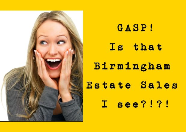 50% OFF, LAST DAY! BIRMINGHAM ESTATE SALES is in JASPER  for 3 days- Join us!