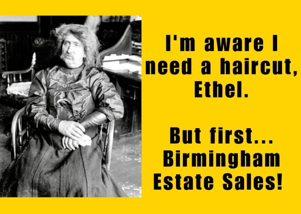 50% OFF, LAST DAY! BIRMINGHAM ESTATE SALES is in HELENA for 2 days- Join us!