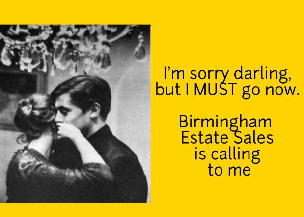 50% OFF, LAST DAY! BIRMINGHAM ESTATE SALES is in HOOVER for 2 days- Join us!