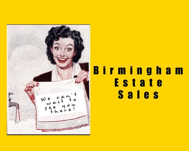 50% OFF, LAST DAY!!!  BIRMINGHAM ESTATE SALES is in HOOVER for 2 days- JOIN US!