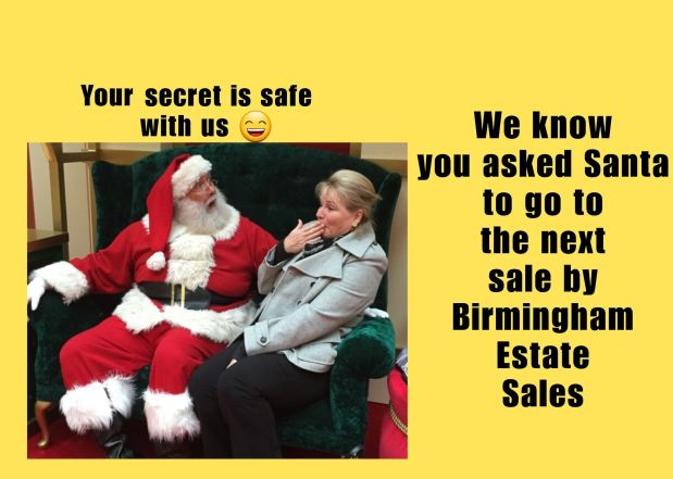 BIRMINGHAM ESTATE SALES is in HOOVER on TUES & WED- JOIN US!