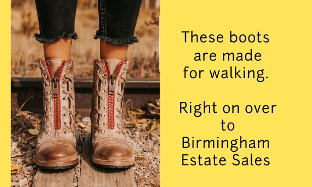 50% OFF! BIRMINGHAM ESTATE SALES is in VESTAVIA for 3 days! Join us!