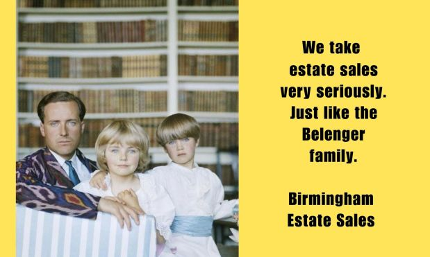 50% OFF NOW!  BIRMINGHAM ESTATE SALES is in CHELSEA for 3 days! Join us!