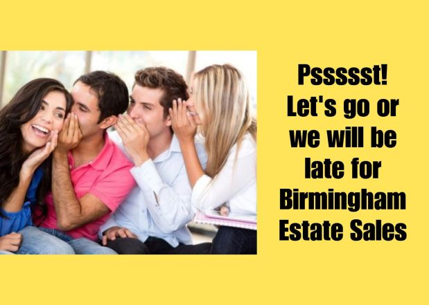50% OFF NOW! BIRMINGHAM ESTATE SALES is in HOOVER for 4 days! Joinus!
