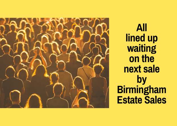 50% OFF NOW! BIRMINGHAM ESTATE SALES is in ALABASTER for 2 days! Joinus!